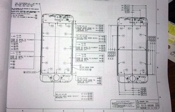 iPhone 5 Design Schematic