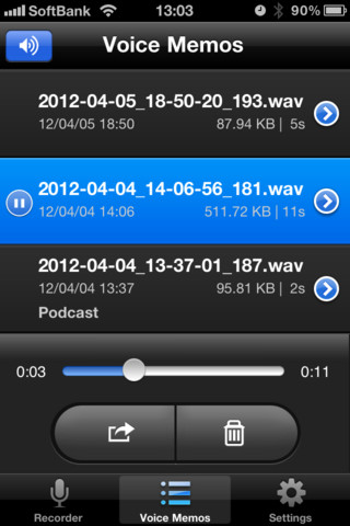 iphone video recording format voice recorder hd iphone app review tapscape 15517