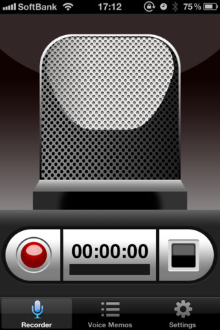 iphone voice recorder voice recorder hd iphone app review tapscape 12446