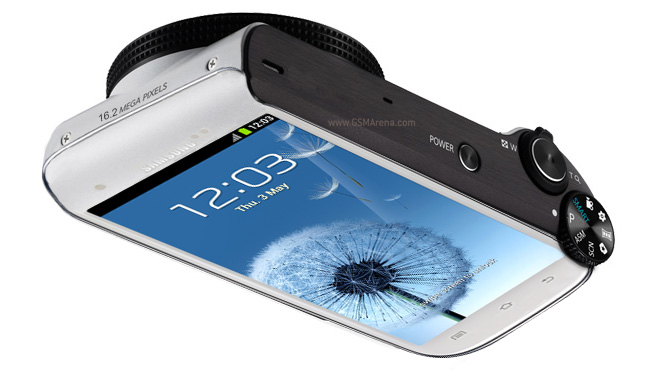 Samsung Galaxy S Camera In The Works, So Says Rumor