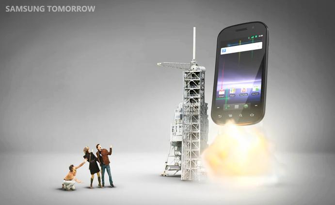 iPhone 5 Google Nexus S Space 2