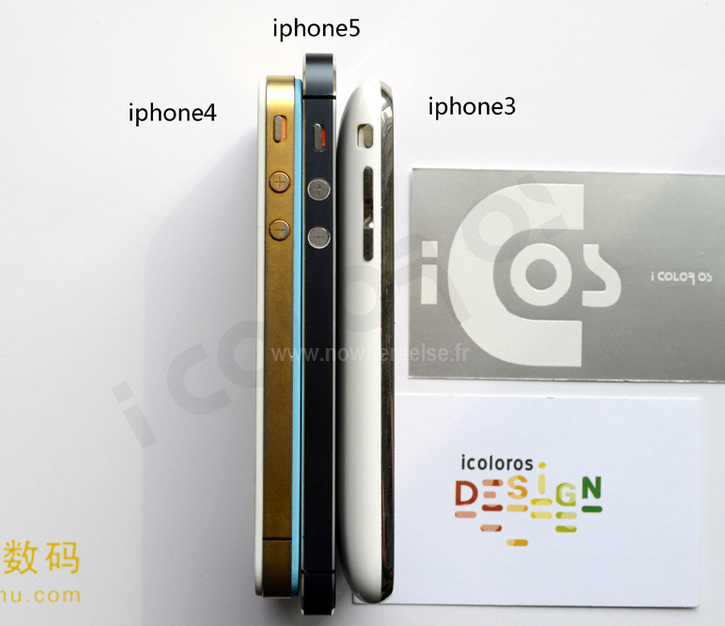 Here's your daily dose of new Iphone 5 pictures