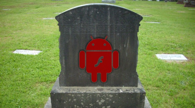 Flash for Android dead