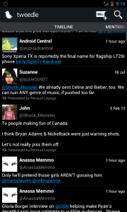 twitter client for android