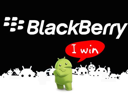 Android vs. BlackBerry