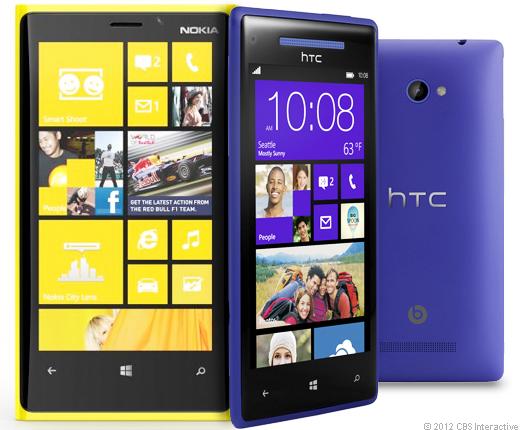 HTC Phone 8X Samsung Galaxy Note 2