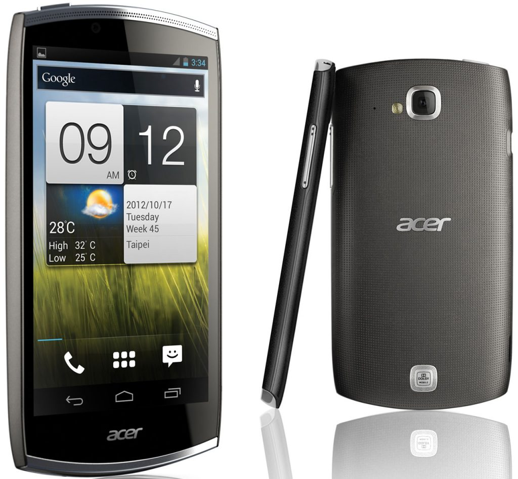 iPhone 5 Galaxy Note 2 Alternative Acer Cloudmobile