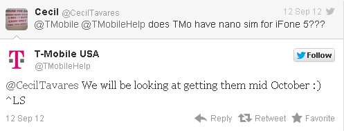 iphone 5 tmobile twitter