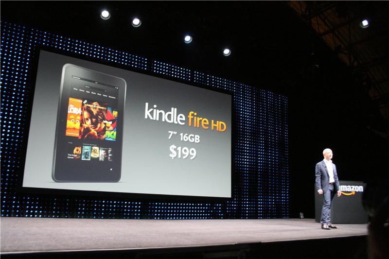 Kindle Fire HD announced