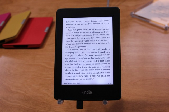 Sharp Reading? THE new Kindle Paperwhite in the Test