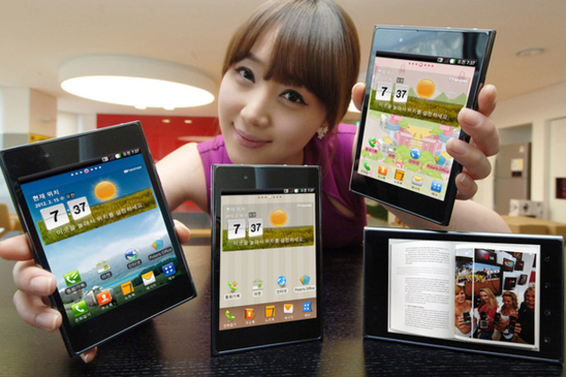 """LG Intuition """"Phablet"""" available from Verizon Sept 6th"""