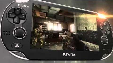 Call of Duty Black Ops Declassified PS Vita Device
