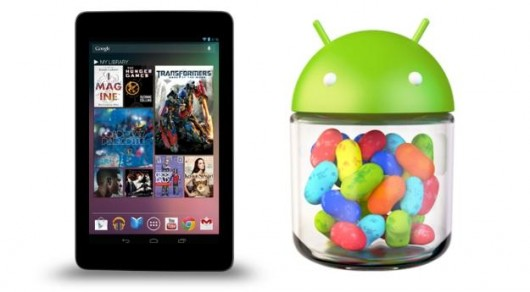 Google Nexus 7 Jelly Bean Update