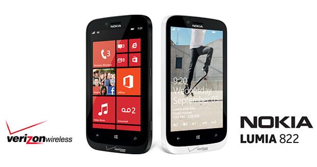 Nokia Lumia 822 heading to Verizon