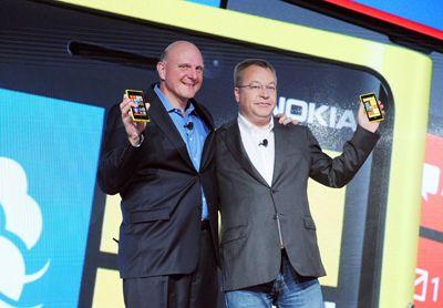 Nokia Lumia 920 Microsoft Steve Ballmer Stephen Elop