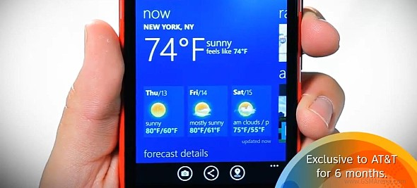 Nokia Lumia 920 to be Exclusive with AT&T for 6 Months