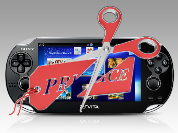 PS Vita Price Cut