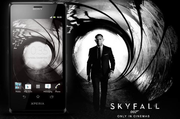 Sony Xperia T Skyfall James Bond