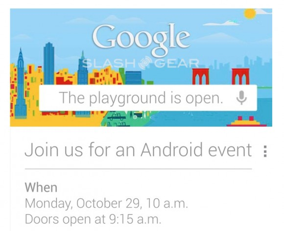 Google Playground Android Event