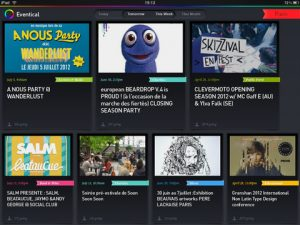 EventiCal for iPad