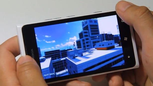 Mirror's Edge Nokia Lumia 920