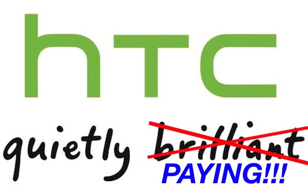 Whatever the license agreement forces HTC to pay Apple will come in addition to the fees the company is already paying Microsoft…