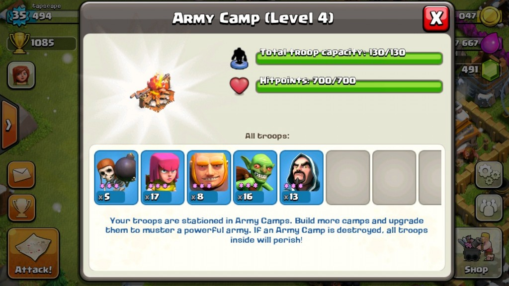 Clas of Clans Attack Strategy