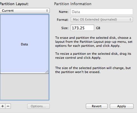 partition failure