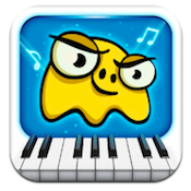Piano Dust Buster iPhone App Review: Fun, Festive, and Xmas Friendly