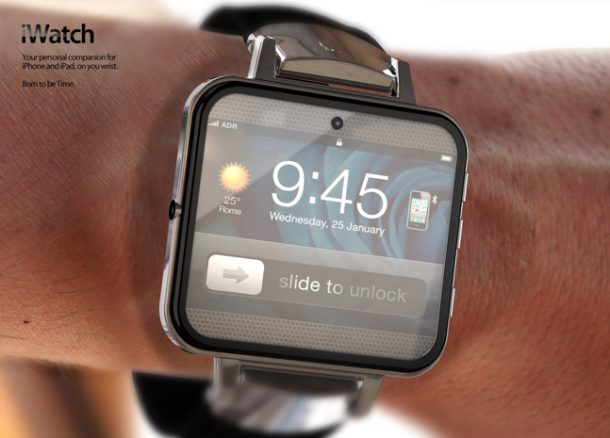 Apple and Intel partner up to make smartwatch
