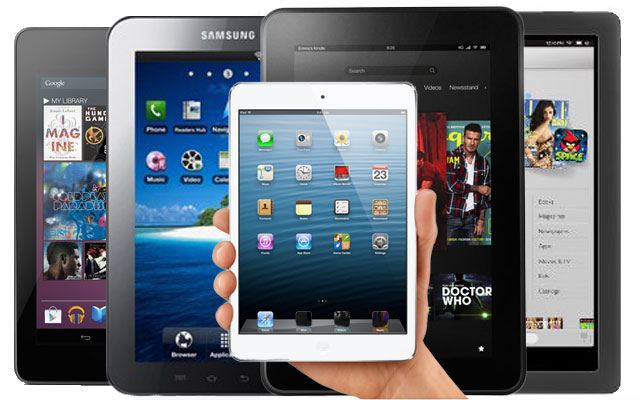 Christmas Tablet Guide - iPad Mini, Nexus 7, Kindle Fire HD, Nook HD
