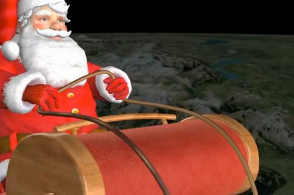 Two Places to Track Santa - NORAD or Google
