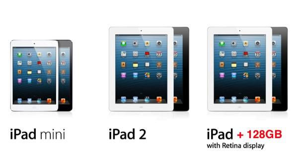 128GB iPad 4: Apple Going Ultimate