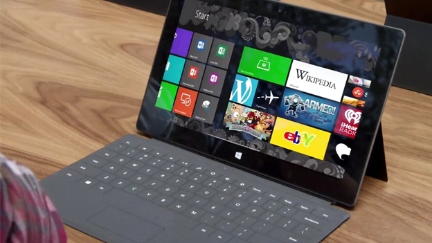 1M Surface tablets sold Q4 last year