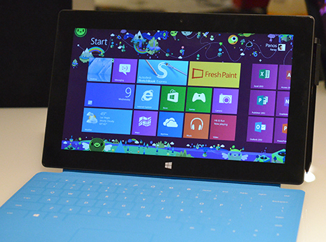 CES 2013: Hands on with the Surface Pro