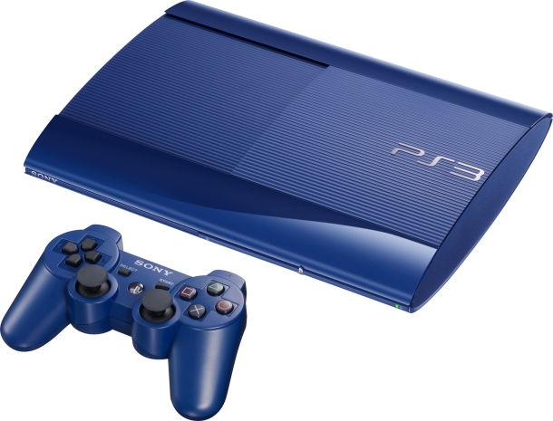 PS3 Sporting New Colors After White Console Release