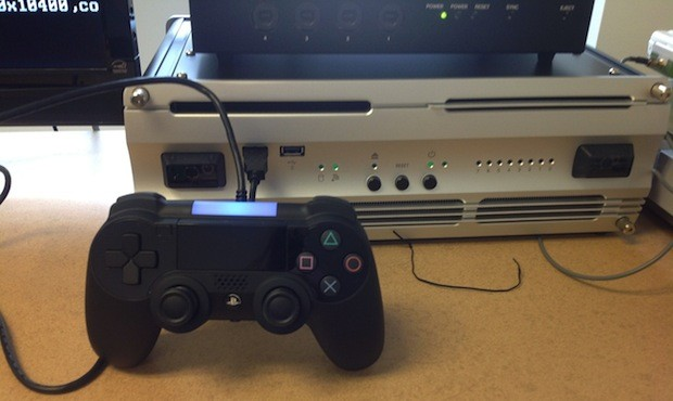 PS4 controller and developer unit seen in new image