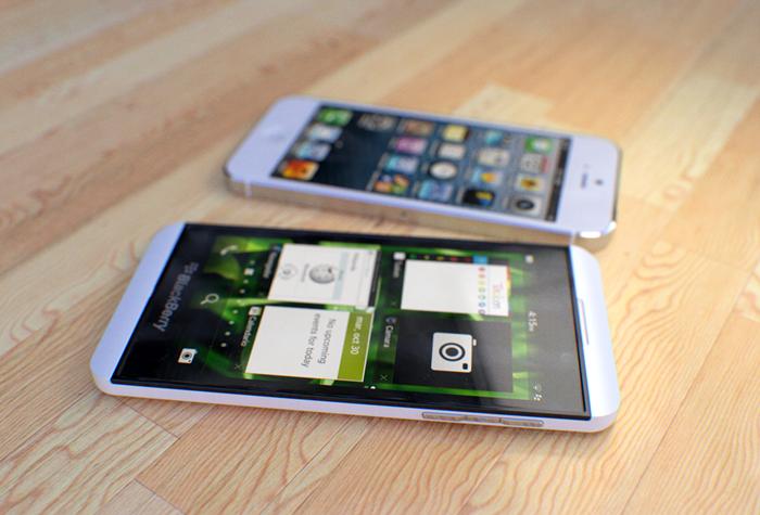 blackberry Z10 vs iphone5
