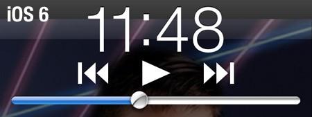 iOS 6 music