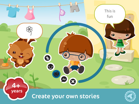 Toonia Storymaker iPad App Review: Empower Your Creative Child