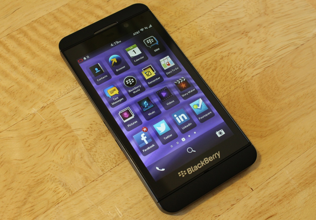 Playing Catch-Up? A BlackBerry Z10 Mini-Review