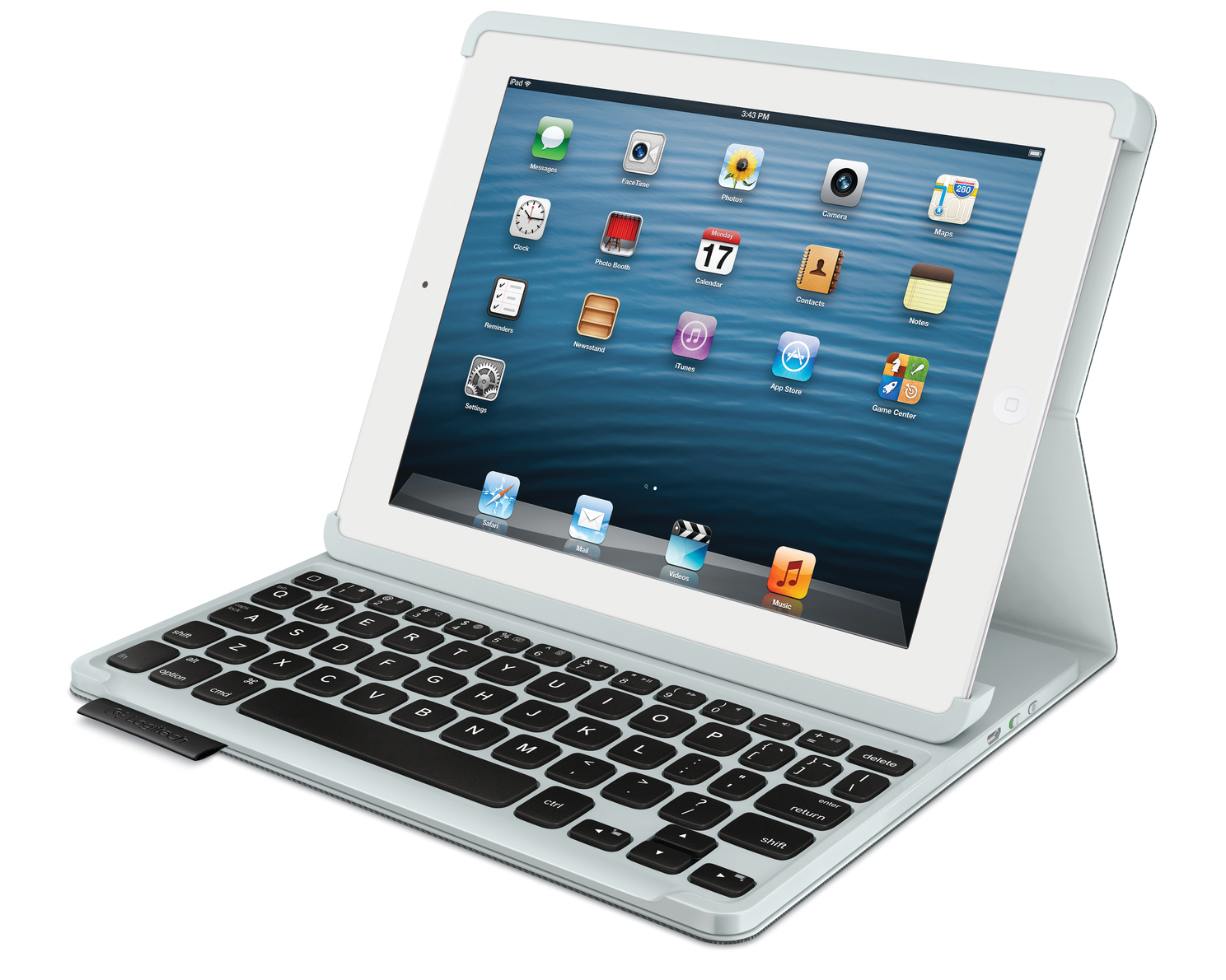 Logitech Keyboard Folio is the perfect companion for iPad and iPad Mini