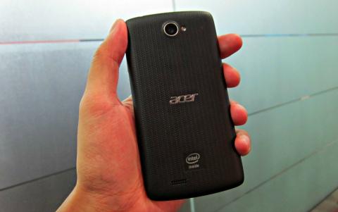 Samsung Galaxy SIV alternative Acer Liquid C1 back