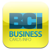 Business Cards Info (BCI) iPhone App Review: Find Cards in a Flash