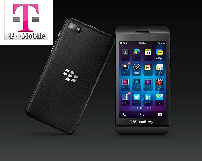 BlackBerry Z10 Available Today for T-Mobile Business Customers