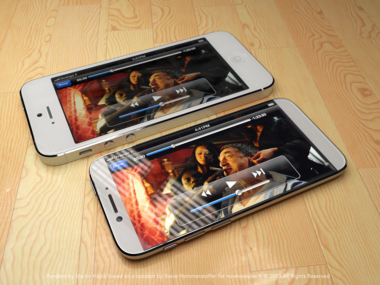 iPhone 6 concept shows 4.6 edge-to-edge display