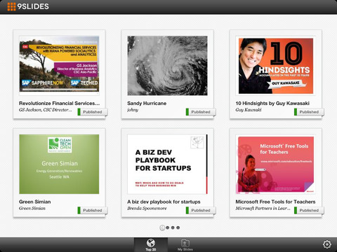 9SLIDES iPad App Review: Add Video and Sound to Presentations