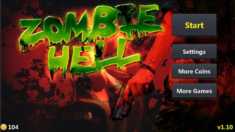 zombie hell iphone game