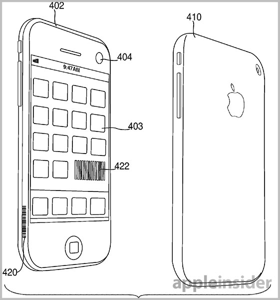 Apple patent creates secure device connection using a picture