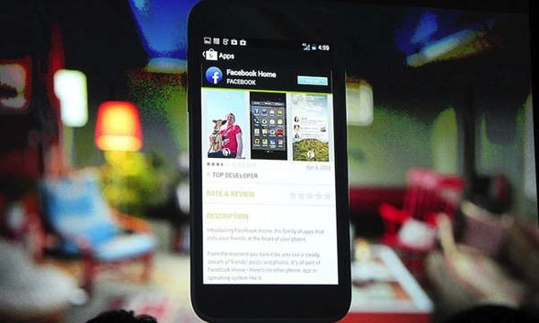 Facebook Home is a family of apps that takes over an Android smartphone home screen, which sounds a lot like a skin and more Android fragmentation…